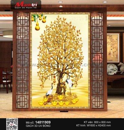 Gạch 3D Cây Kim Tiền 14811909 - 3.490.000 đ/bộ