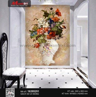 Gạch 3D Bình hoa 16285251 - 3.490.000 đ/bộ