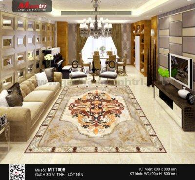 Gạch 3D Hoa văn thảm MTT006 - 7.000.000 đ