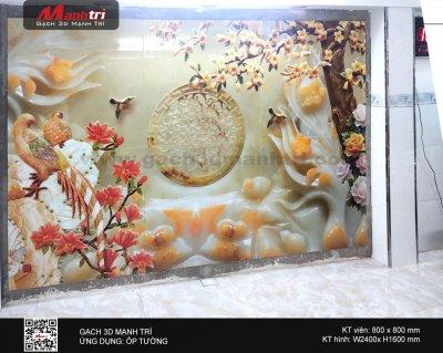Công trình gạch 3D thực tế ở nhà anh Sơn, quận 10 (phần 2)