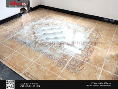 Công trình gạch 3D thực tế ở Thanh Hóa (Phần 4)