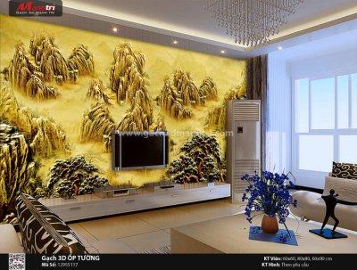 Gạch 3D cho người mệnh Thổ