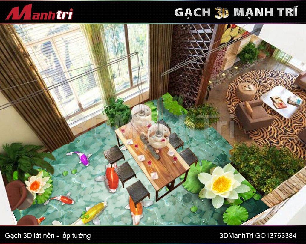 Gạch 3D Mạnh Trí GO13763384