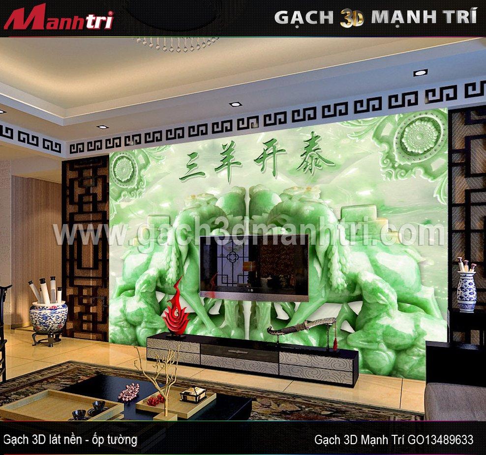 Gạch 3D Mạnh Trí GO13489633
