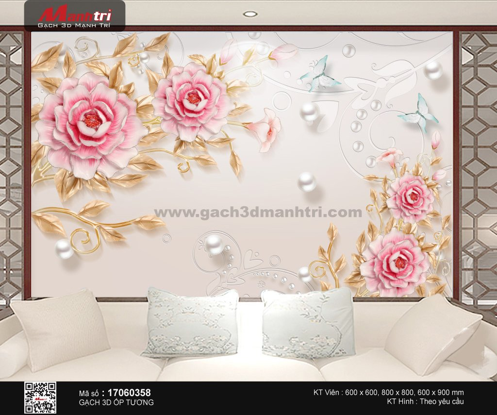 Gạch 3D Mạnh Trí 17060358