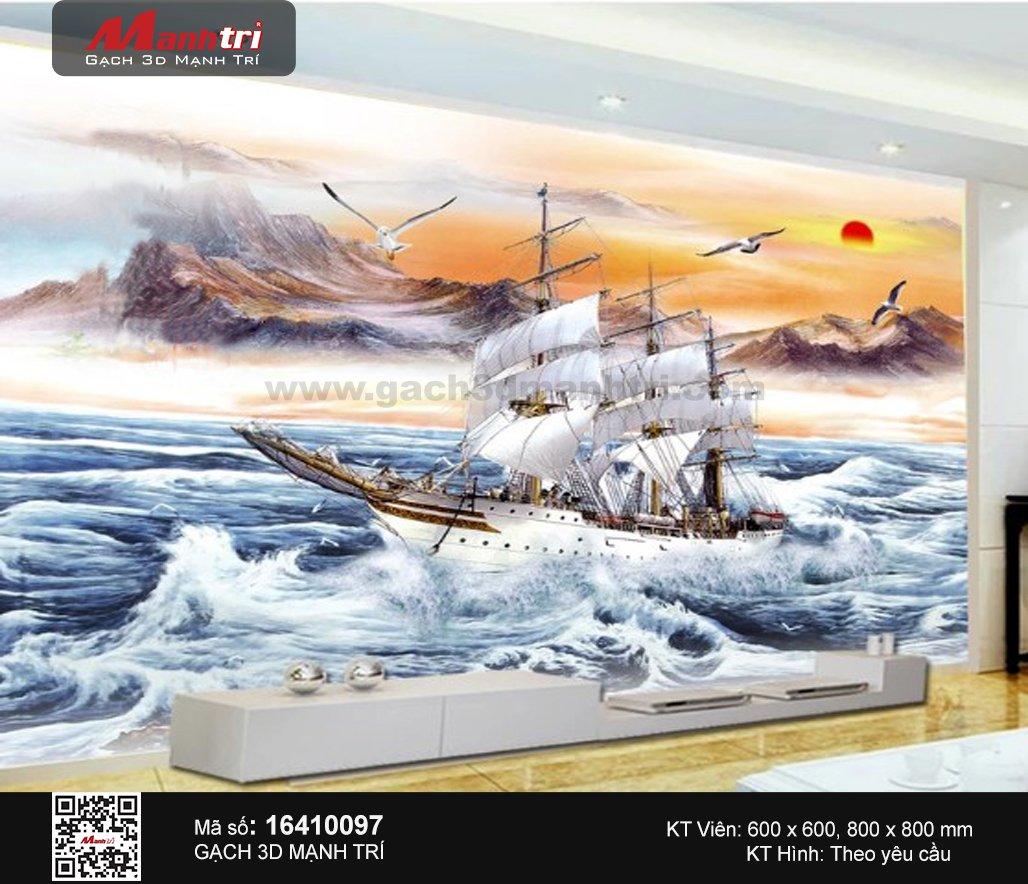 Gạch 3D Thuận Buồm Xuôi Gió