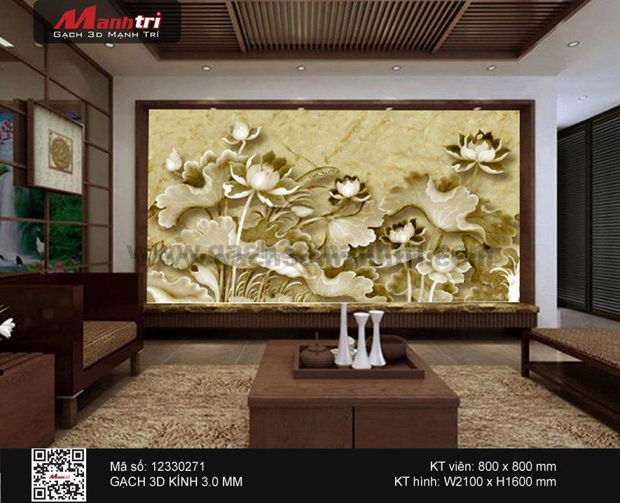 Gạch 3D Hoa Sen 12330271 -  6.000.000 đ