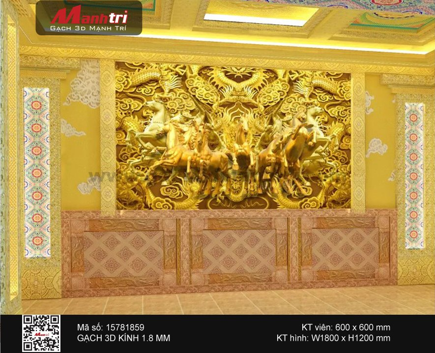 Gạch 3D Mã đáo 15781859 - 4.000.000 đ