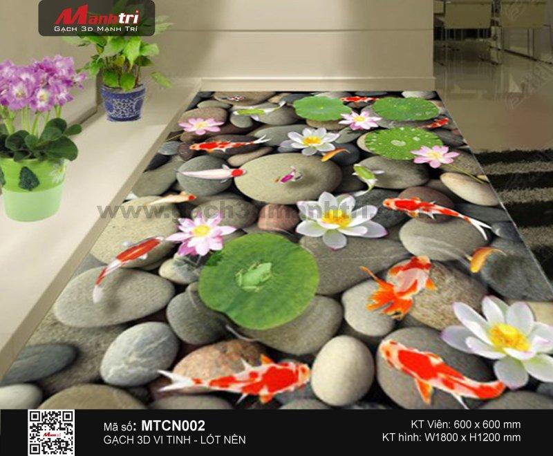 Gạch 3D Cá Chép nền MTCN002 - 4.500.000 đ