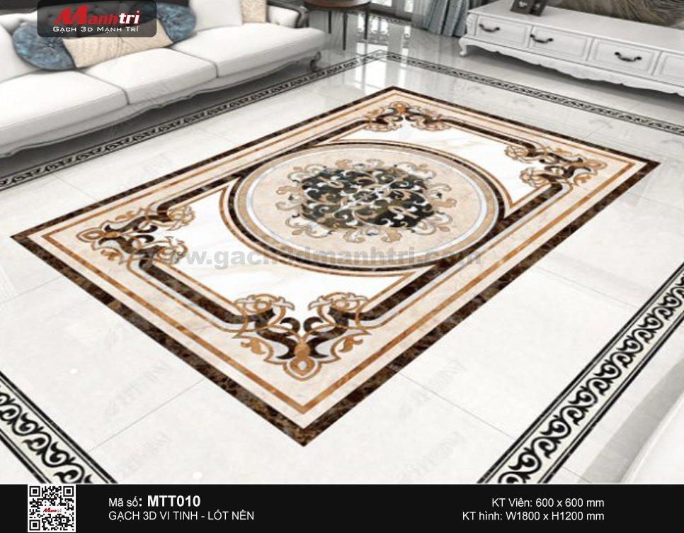 Gạch 3D Hoa văn thảm MTT010 - 4.500.000 đ